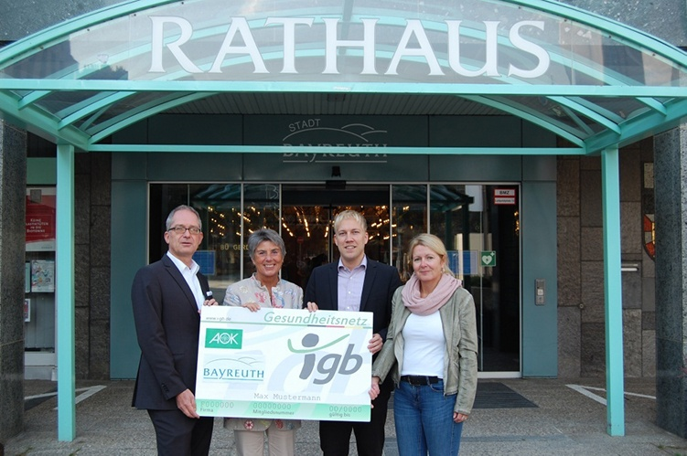Projektstart der Stadt Bayreuth